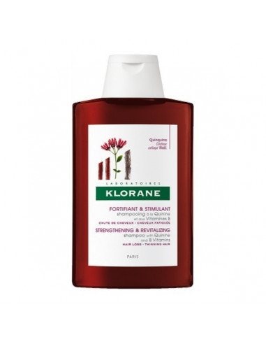 Shampooing À La Quinine Et Aux Vitamines B 400ml Klorane