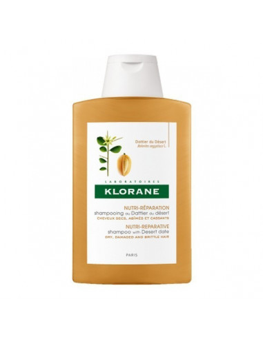 Shampooing Au Dattier Du Désert 200ml Klorane