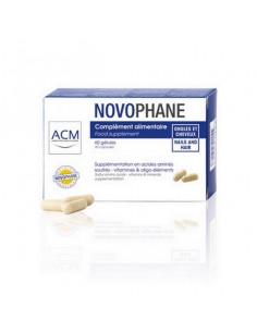 Novophane 60 gélules Ongles et Cheveux