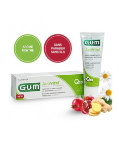 Gel Dentifrice GUM® ActiVital