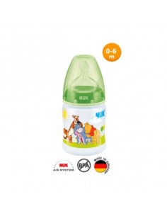 Biberon Winnie incassable 150 ml (Vert) NUK