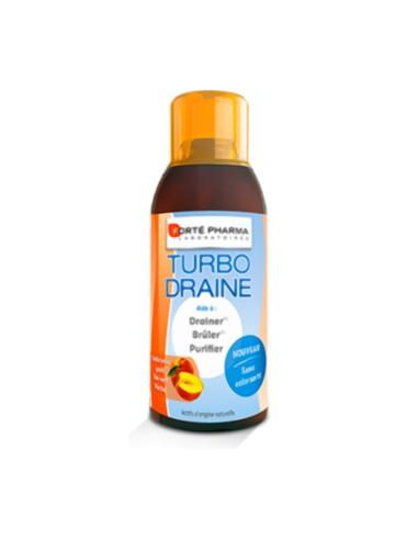TurboDraine Minceur Thé Vert Pêche 500ml Forté Pharma