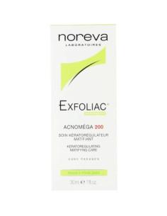 Exfoliac Acnoméga 200 soin kérato-régulateur matifiant 30 ml Noreva