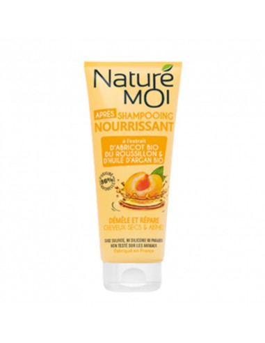 APRÈS-SHAMPOOING NOURRISSANT - Cheveux secs & abîmés Naturé Moi