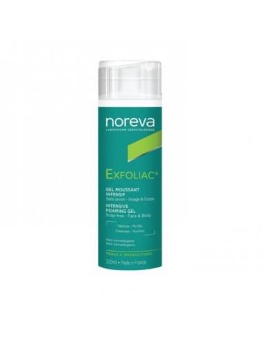 Exfoliac Gel Moussant Noreva 200ml
