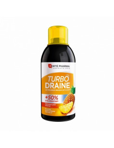 TurboDraine Minceur Ananas 500ml Forté Pharma