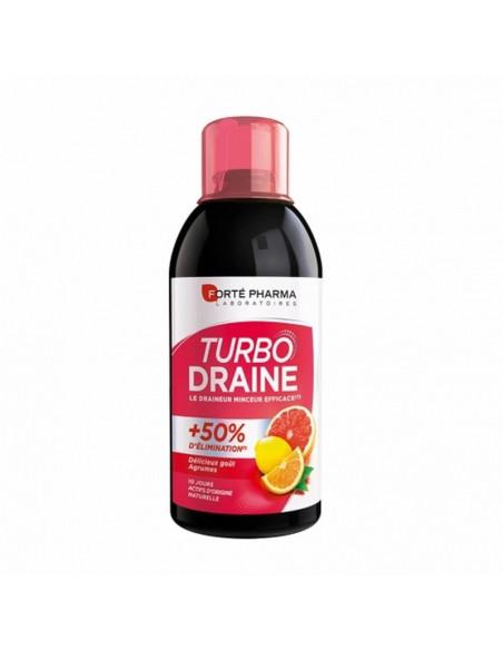 TurboDraine Minceur Agrumes 500ml Forté Pharma