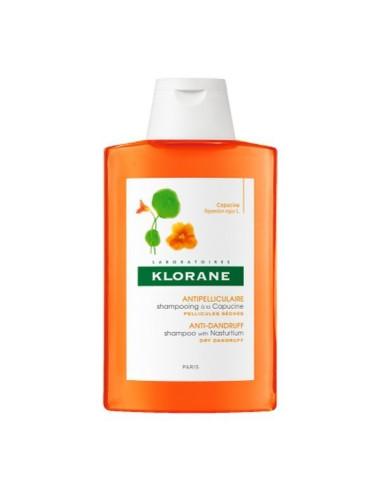 Shampooing Antipelliculaire à l'extrait de capucine 200ml Klorane