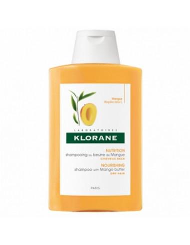 Shampooing au beurre de Mangue Klorane 200ml