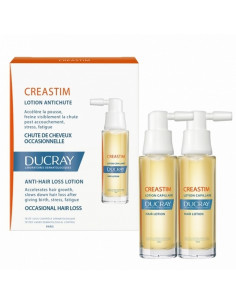 Creastim lotion antichute 2*30ml Ducay