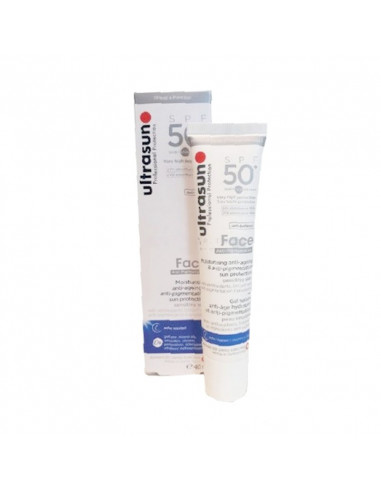 ULTRASUN Face Anti-âge et Anti-PIGMENTATION SPF 50+ 50ml