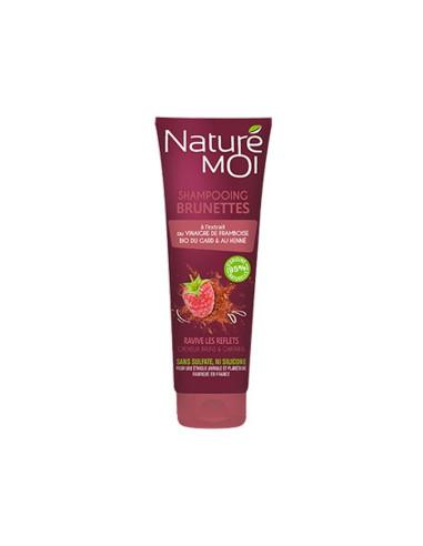 SHAMPOOING BRUNETTES - Cheveux bruns & châtains Naturé Moi
