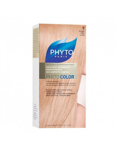 PHYTOCOLOR 9 BLOND TRÈS CLAIR Phyto