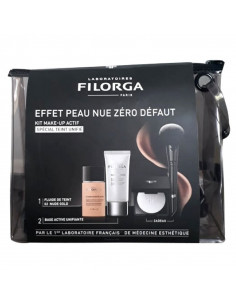 FILORGA COFFRET DUO MAKE-UP ACTIF - 02 NUDE GOLD