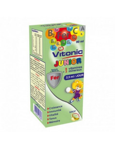 VITONIC JUNIOR GOUTTES 60ML