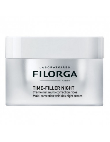 TIME-FILLER NIGHT Crème Nuit Multi-Correction Rides 50ml