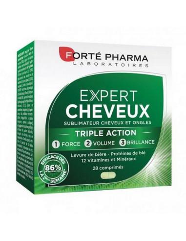 EXPERT CHEVEUX Forté Pharma 28 comprimés