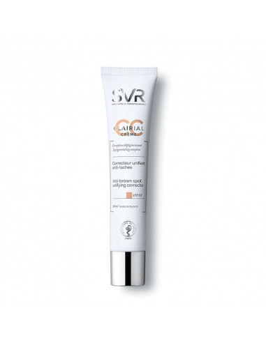SVR Clairial CC Crème Correcteur Unifiant Anti-taches Light SPF50 40ml