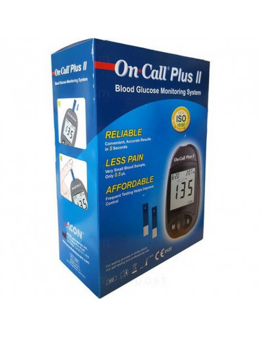 Pack On Call Plus Glucomètre + 75...