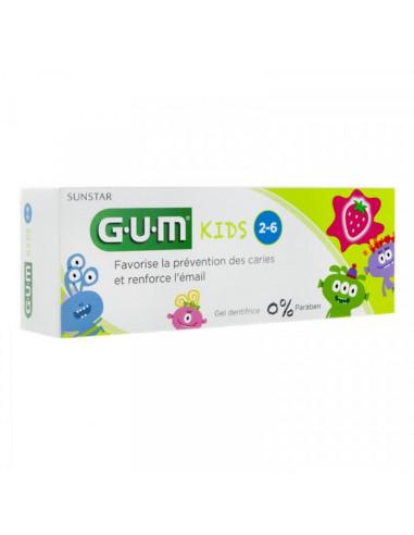 Gel Dentifrice GUM® Kids 2-6 ans