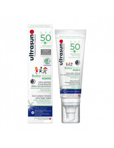 Ultrasun Baby Mineral SPF50 50 ml