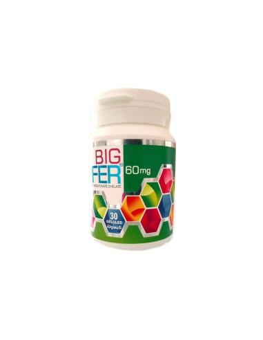 Big Fer 60mg 30 Gélules