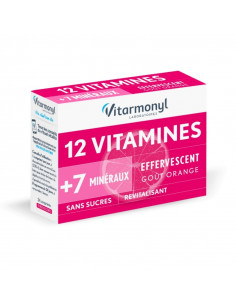 Multivitamines 12 Vitamines + 7 Oligo-éléments