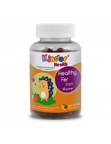 Healthy Fer Goût Myrtille Kinder Health
