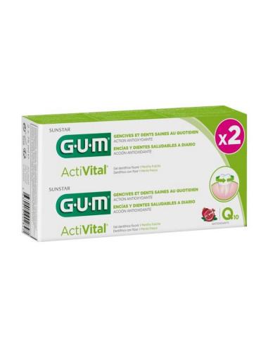 Pack de 2 x Gels Dentifrices GUM®...