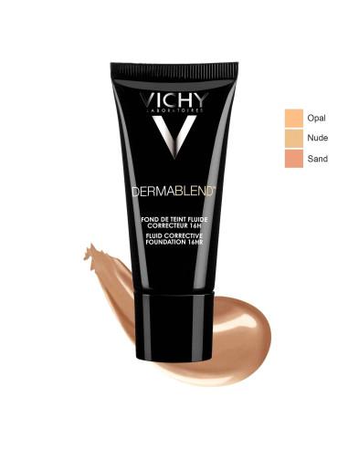 Vichy Dermablend Fond De Teint Fluide 25 (Nude) SPF 35