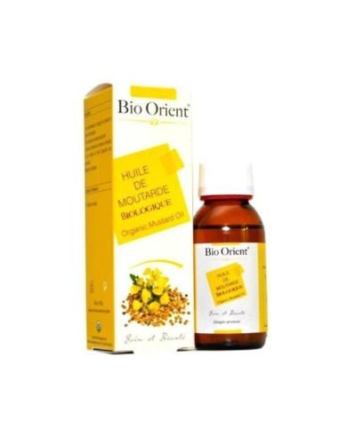 Huile Végétale de Moutarde BIO, 90ml Bio Orient